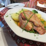 Rabbit Meat with potatoes