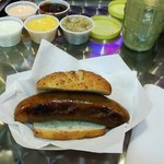 Brat-Mustards-dipping sauces