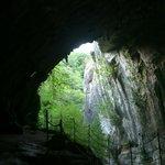 """Cueva dónde se rodó """"Las brujas de Zugarramurdi""""."""