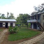 Some of the buildings around the campus