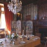 la salle à manger historique du chateau