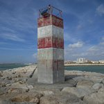 Lighthouse in Quarteira