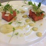 Scottish smoked salmon ,fennel salad
