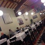 La sala ristorante ...