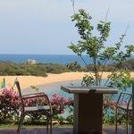 view from Castaways restaurant