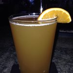 Superb!!!! Bluemoon with slice of Orange