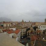 Torre di San Nicolò all'Albelgheria - Panorama di Palermo