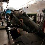 Un Gloster Gladiator aereo inglese della difesa su Malta