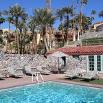 Furnace Creek Inn from the pool