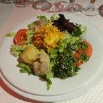Entrée: l'assiette créole des îles