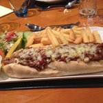 The mega chilli-cumberland-dog challenge :-)