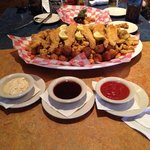 JAWs with three great sauces