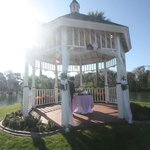 The gazebo for weddings