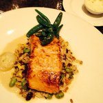 Salmon at eclipse