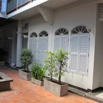 façades de chambres