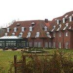 Hotel mit Wintergarten