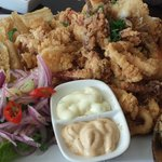 Jalea Misky- fried mussels, shrimp, fish and octopus
