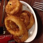 Cracking onion rings!