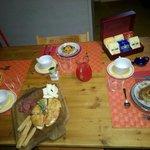 La magnifica colazione con i dolci fatti in casa