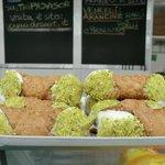 Cannoli at Testaccio market
