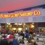 Le Bubba Gump Shrimp Restaurant à l'aéroport de Cancun