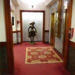 Main lobby, the elevators' area