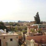 Aussicht vom Dach des Riad