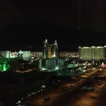 Night view of the Strip
