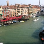 This was the view from our room of the Rialto Bridge and the Grand Canal.