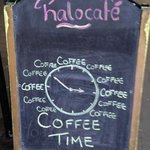 Great breakfast, scones, homemade food, gorgeous salads, coffee and chalkboard signs.