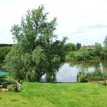 Lake & garden, view from Duck room