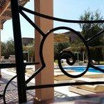 Extérieur côté piscine