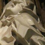 Ecstasy of Saint Teresa, detail of the saint's face