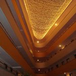 Hotel foyer ceiling