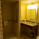 Rm. 103, accessible room w/ roll in shower