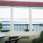 View of picturesque Provincetown harbor from one of our Deluxe waterview suites.