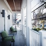 Our Crown Suite with its Commercial Street balcony!