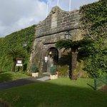 Entrance: old fort