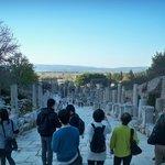 Vía de los Curetes y Biblioteca de Celso