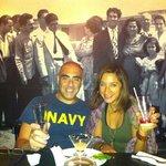 Mi and my best girl friend dining at La Cueva