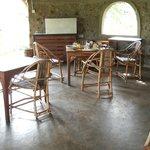 Interior of the tearoom