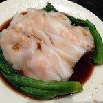 Steamed Rice Noodle with Shrimp 022114