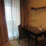 Corner desk in Master bedroom