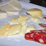 Fresh Mozzarella, Provolone and Salami