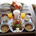 El desayuno increible!