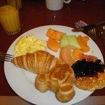 comida do café da manhã
