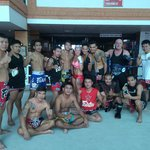 Muay Thai Boxing Coaches and Fighters