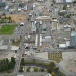 Veiw of Christchurch from the air