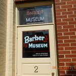 Entrance to Barber Museum
