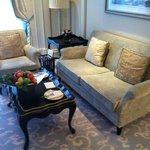 My suite living room